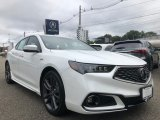 2018 Bellanova White Pearl Acura TLX V6 A-Spec Sedan #129350888