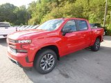 2019 Red Hot Chevrolet Silverado 1500 RST Crew Cab 4WD #129351012