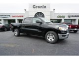 2019 Diamond Black Crystal Pearl Ram 1500 Tradesman Crew Cab #129351073