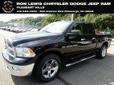 2012 Black Dodge Ram 1500 SLT Quad Cab 4x4 #129351215