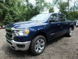 2019 Patriot Blue Pearl Ram 1500 Big Horn Crew Cab 4x4 #129351198