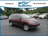 2012 Basque Red Pearl II Honda CR-V LX 4WD #129351180