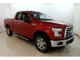 2015 Ruby Red Metallic Ford F150 XLT SuperCab 4x4 #129387829