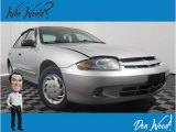 2003 Ultra Silver Metallic Chevrolet Cavalier Sedan #129387756