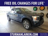 2018 Blue Jeans Ford F150 STX SuperCrew 4x4 #129407124