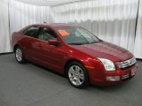 2008 Redfire Metallic Ford Fusion SEL V6 #12931885