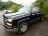 2006 Black Chevrolet Silverado 1500 LT Extended Cab 4x4 #129419497