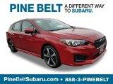 2019 Lithium Red Pearl Subaru Impreza 2.0i Sport 5-Door #129419438