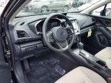 2019 Subaru Impreza 2.0i Premium 5-Door Ivory Interior