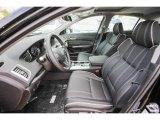 2018 Acura TLX V6 SH-AWD Technology Sedan Ebony Interior