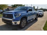 2019 Cavalry Blue Toyota Tundra TRD Off Road Double Cab 4x4 #129439503