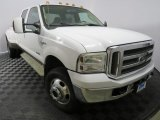 2005 Oxford White Ford F350 Super Duty King Ranch Crew Cab 4x4 #129439484