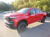 2019 Red Hot Chevrolet Silverado 1500 LT Z71 Trail Boss Crew Cab 4WD #129461743