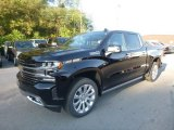 2019 Black Chevrolet Silverado 1500 High Country Crew Cab 4WD #129461741