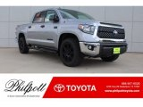 2019 Silver Sky Metallic Toyota Tundra TSS Off Road CrewMax 4x4 #129461811