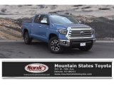 2019 Cavalry Blue Toyota Tundra Limited CrewMax 4x4 #129461540