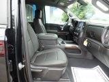 2019 Chevrolet Silverado 1500 LT Z71 Trail Boss Crew Cab 4WD Jet Black Interior