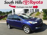2014 Deep Impact Blue Ford Escape SE 2.0L EcoBoost 4WD #129516451