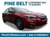 2019 Crimson Red Pearl Subaru Impreza 2.0i Limited 4-Door #129516392