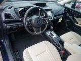 2019 Subaru Impreza 2.0i Premium 5-Door Black Interior