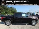 2018 Magma Red Ford F150 Lariat SuperCrew 4x4 #129516438