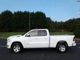 2019 Bright White Ram 1500 Big Horn Quad Cab 4x4 #129516241