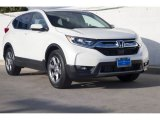 2018 White Diamond Pearl Honda CR-V EX-L #129546379