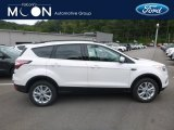 2018 White Platinum Ford Escape SE 4WD #129554402