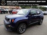 2018 Jetset Blue Jeep Renegade Latitude 4x4 #129554437