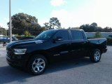 2019 Diamond Black Crystal Pearl Ram 1500 Big Horn Crew Cab #129554514