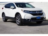 2018 White Diamond Pearl Honda CR-V EX AWD #129572684