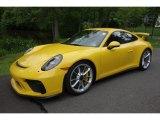2018 Porsche 911 Paint To Sample Summer Yellow