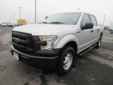 2015 Ingot Silver Metallic Ford F150 XL SuperCrew 4x4 #129572761