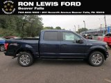 2018 Blue Jeans Ford F150 STX SuperCrew 4x4 #129572651