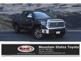 2019 Midnight Black Metallic Toyota Tundra SR5 CrewMax 4x4 #129592491