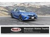 2019 Blue Streak Metallic Toyota Camry XSE #129592481