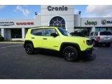2018 Hypergreen Jeep Renegade Latitude #129592615
