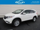2015 White Diamond Pearl Honda CR-V EX #129592452