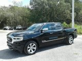 2019 Diamond Black Crystal Pearl Ram 1500 Limited Crew Cab 4x4 #129592738