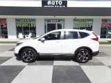 2018 White Diamond Pearl Honda CR-V Touring #129616381