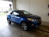 2017 Lightning Blue Ford Escape Titanium 4WD #129616270