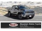 2019 Midnight Black Metallic Toyota Tundra SR5 CrewMax 4x4 #129616195