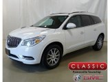 2015 White Opal Buick Enclave Leather #129642939