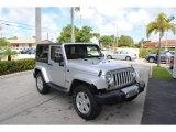 2012 Bright Silver Metallic Jeep Wrangler Sahara 4x4 #129642775