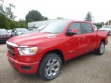 2019 Flame Red Ram 1500 Big Horn Crew Cab 4x4 #129642888