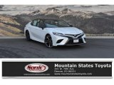 2019 Wind Chill Pearl Toyota Camry XSE #129616179