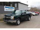 2003 Dark Green Metallic Chevrolet Silverado 1500 LS Regular Cab 4x4 #12958153