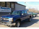 2003 Arrival Blue Metallic Chevrolet Silverado 2500HD LS Extended Cab 4x4 #12958146