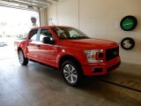 2018 Race Red Ford F150 STX SuperCrew 4x4 #129697308
