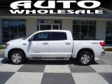 2008 Super White Toyota Tundra Limited CrewMax 4x4 #12962355